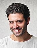 Portrait photo of smiling man