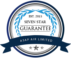 Logo of Seven Star Guarantee of ASAP Air Limited