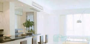 Light kitchen area in modern outlook