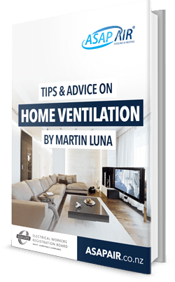 ASAP AIR book on tips & advice on home ventilation by Martin Luna