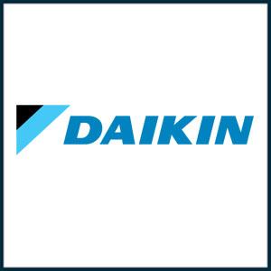 Daikin Logo Air Heater and Air Conditioner